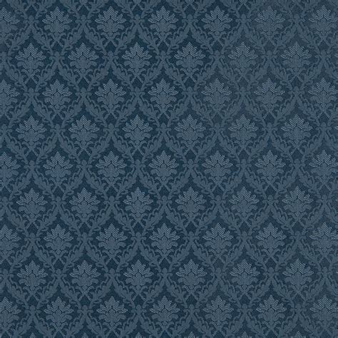 blue upholstery fabric dark blue foliage and bouquets upholstery fabric by the