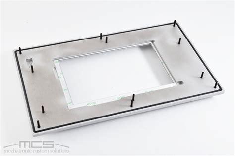 cornici alluminio cornice per display in alluminio