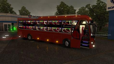 mod xe game euro truck simulator 2 hyundai universe noble bus v1 23 1 24 euro truck