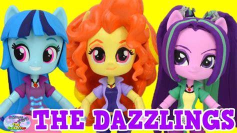 Pony Mini Custom by My Pony Equestria The Dazzlings Custom