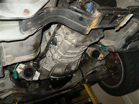 removing 2004 ford mustang transmission how to change automatic transmission fluid and