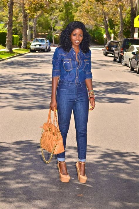 Combo Ripped Highwaist western denim and top combo the shoes
