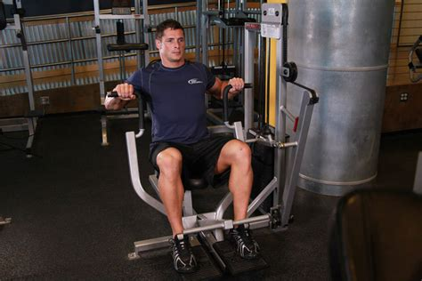 Machine Bench Press Exercise Guide And Video