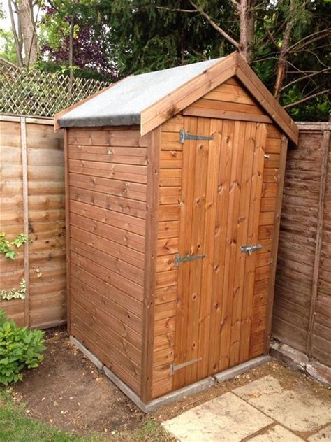 4x4 Shed summers 8x7 wooden sheds details