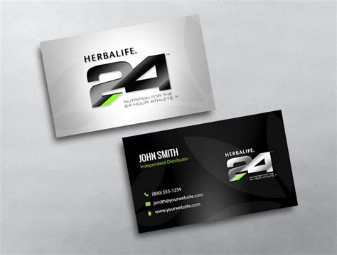 Herbalife Business Card Template by Herbalife Business Card 10