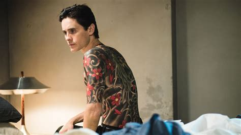 tattoo japanese movie slick yakuza thriller the outsider plants jared leto in