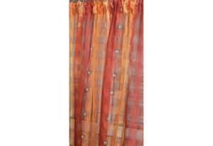 voilage couleur rideau sur mesure en 140 de large
