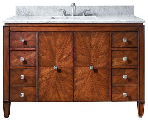 Brentwood 49 In Vanity Only Contemporary Bathroom 61 Bathroom Vanity