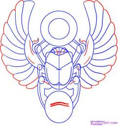 how to draw a scarab design step by step tattoos pop