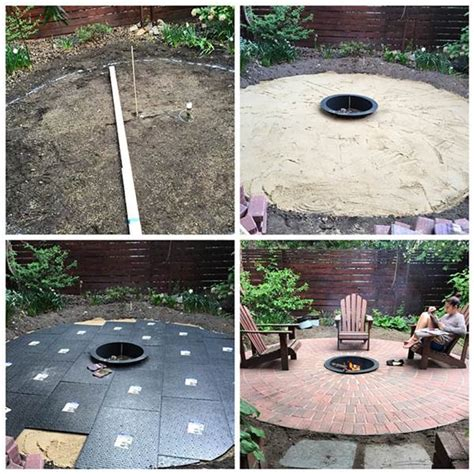 Patio Today by Diy How To Create A Backyard Brick Patio Today