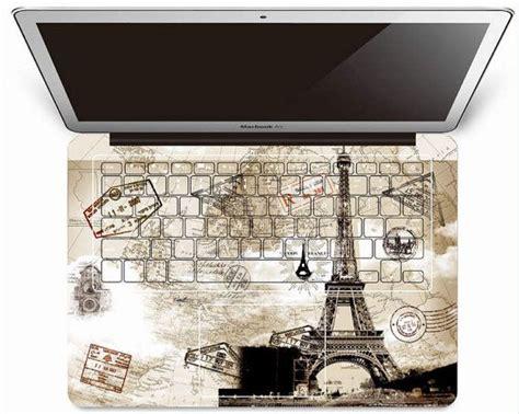 Garskin Macbook Pro 13 2015 3m Skin Garskin Black eiffel tower mac keyboard decals macbook decals