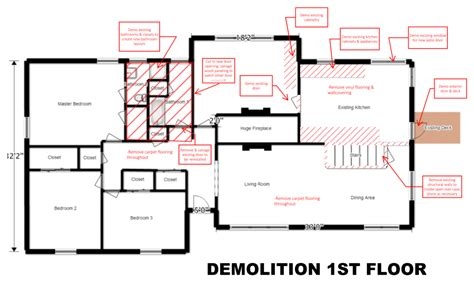 construction floor plans image result for demolition floor plans construction