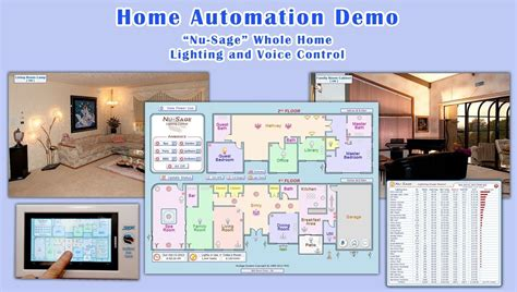 home automation lighting and voice demo