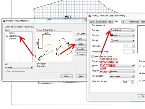 autocad tutorial annotative text solved text dimension autodesk community