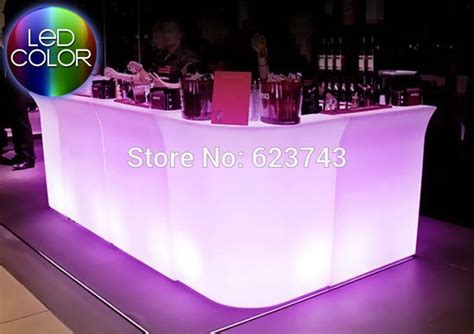 led bar counter led coffee table led led table for bar led furniture led garden luminous led bar counter sl lbc8301 polydeco bar led bar table jumbo waterproof rechargeable