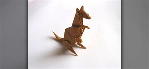 How To Make An Origami Kangaroo - how to origami an engel kangaroo 171 origami
