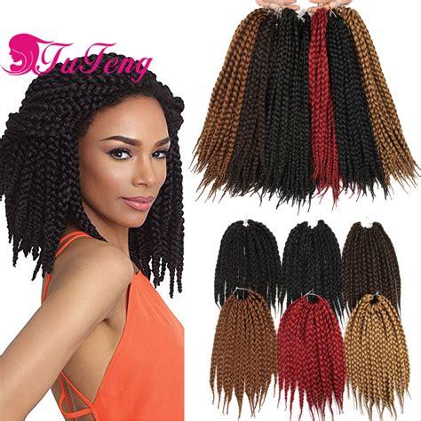 pretwisted crochet braids hair 12 inch box braids crochet braids in box braids styles 80g