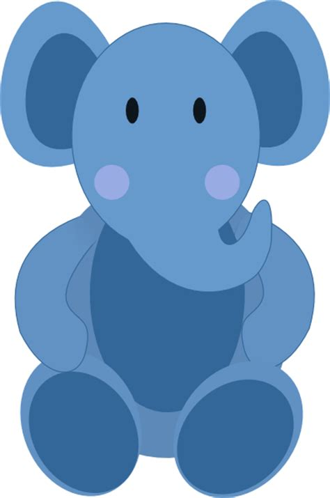Clipart Baby Elephant baby elephant clip at clker vector clip