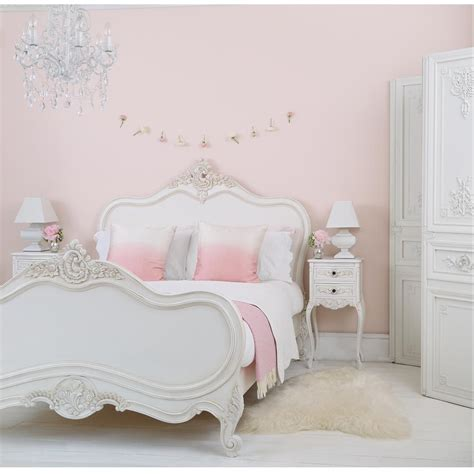 provencal lit lit white rattan bed luxury bed french bed rafinament elegance and romance in your bedroom