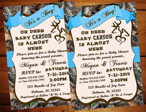 Realtree Camo Baby Shower Invitations by 17 Best Ideas About Camo Baby Showers On Camo