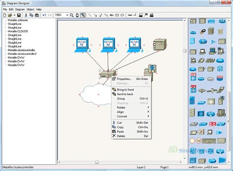 free network diagram software free diagram designer 28 images free flat diagram