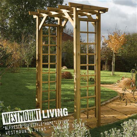Square Wood Trellis New Wooden Garden Square Top Trellis Arch Pressure