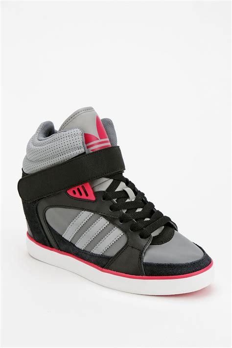 adidas high top wedge sneakers adidas amberlight wedge high top sneaker