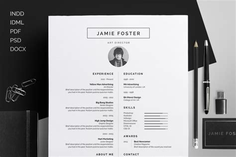 free creative resume templates 2015 16 ms word resume templates with the professional look