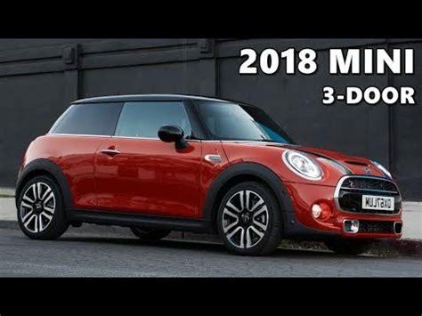 mini 3 colors 2018 mini 3 door exterior interior driving