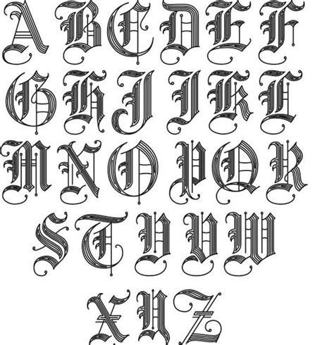 old english tattoo letters fonts 2 jpg 621 215 643 tats