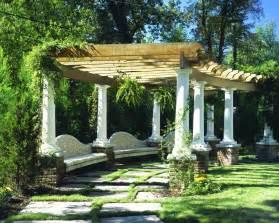 Pergola Gardens by Pergola Custom Pergola Design 3024 Chadsworth Columns