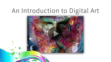introduction to art free digital art e course is now live louis dyer visionary digital artist