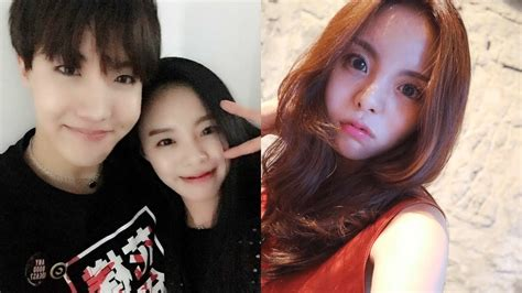 namjoon kim sister bts news bts j hope s older sister is drop dead gorgeous