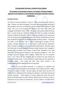 How To Make Review Of Literature by Best Photos Of Book Review Sle Apa Paper Apa Style Format Exle Paper Literature Review