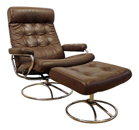Contemporary Chair And Ottoman Modern Leather Chairs With Ottomans Chairs Seating
