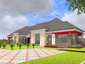 Bungalow Bedroom residential homes and public designs mr kunle 5 bedroom bungalow