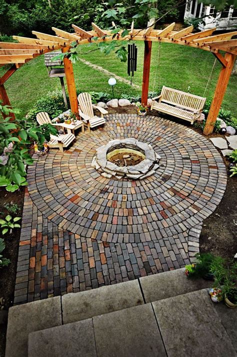 design your patio 25 best ideas about pit designs on