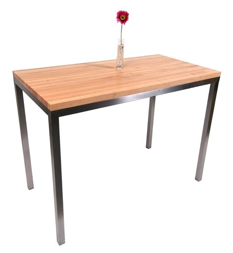 stainless steel butcher block table wood dining table tops boos butcher block