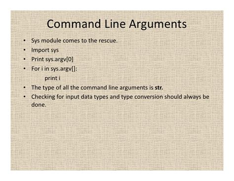 python tutorial command line arguments tutorial on python programming