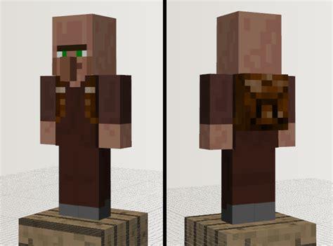 Minecraft Papercraft Villager - 3d paper crafts minecraft villager