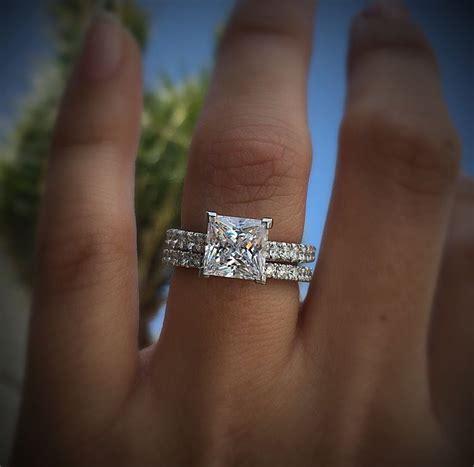tacori petite crescent ht2546 princess cut engagement ring