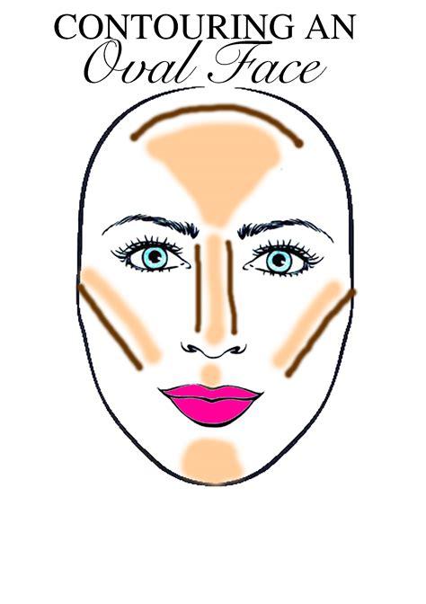 oval face contouring makeup diffe face shapes mugeek vidalondon