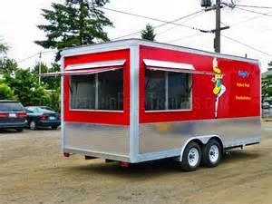 Food Trailers Custom Mobile 18ft Kitchen Concession Food Trailer