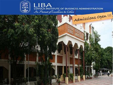Liba Mba Courses Offered by Liba Chennai Invites Applications For Pgdm Admissions 2014