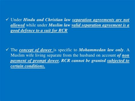 section 9 restitution of conjugal rights restitution of conjugal rights a comparative study among