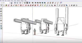 sketchup layout ortho unit 2 grade 11 12 technological design robotics