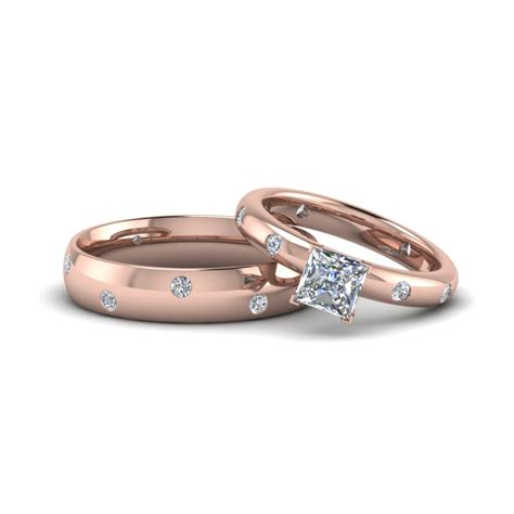 Wedding Bands Couples by Matching Wedding Bands For Him And Fascinating Diamonds