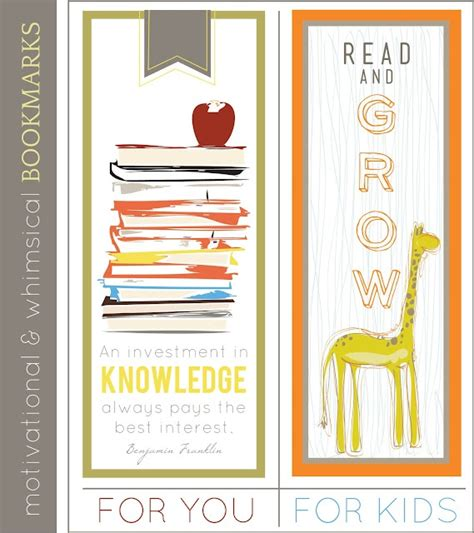 printable school bookmarks 15 best images about free printable book marks on