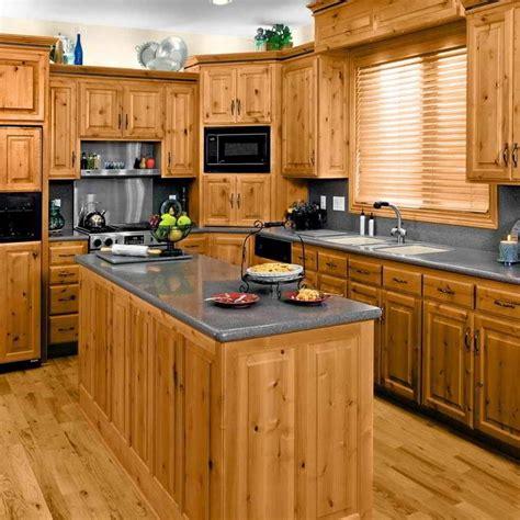 knotty pine kitchen ideas