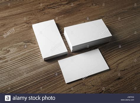 Business Card Empty Template